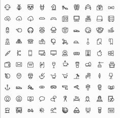 100 Free iOS 8 Icons - IconsMind