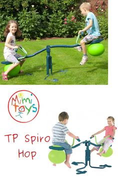 TP Spiro Hop Innovative seesaw will have your kids in a 360 degree spin. Sand Pits For Kids, Social Activities, Gross Motor Skills, Seesaw, Garden Toys, Outdoor Play, Spin, Things That Bounce, Ireland