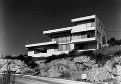 """Fitzpatrick House. Will Paice: Co-Producer, """"Visual Acoustics"""". Photograph by Julius Shulman © J. Paul Getty Trust."""