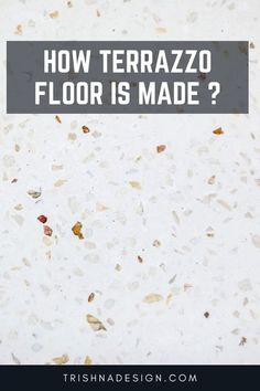 In Mumbai 20 years back builders used to give the residential flat terrazzo flooring but now it is replaced with ceramic tiles because of the high cost. But then too if not refurbished you will see the terrazzo flooring in your friend's house or older buildings. #trishnadesign #interiors #interiorstyling #designer #styles #decoration #styling #interiorstyle #trishna #interiordesign #terrazzo #terrazzoflooring Terrazzo Flooring, False Ceiling Design, Types Of Flooring, Space Saving Furniture, Old Building, Interior Styling, How To Memorize Things, Architecture, 20 Years
