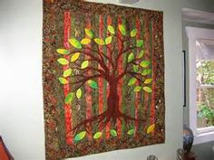 tree of life quilt | Quilting - trees, leaves | Pinterest