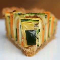 Veggie Ribbon Pie