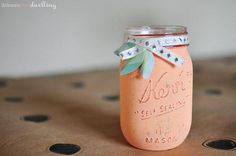 DIY: Recicla tus tarros de cristal y crea accesorios únicos para tu hogar