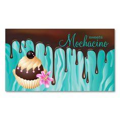 Shop 311 Chocolate Business Card Bakery Cupcake created by BestCards. Cake Shop Design, Cake Logo Design, Menu Design, Cute Business Cards, Bakery Business Cards, Business Card Design, Cake Icon, Cute Bakery, Cupcake Shops