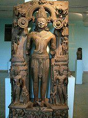 Statue of Surya, the Sun God  From Orissa, 13th Century. National Museum, New Delhi, India