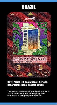 1995 illuminati card game - Brazil
