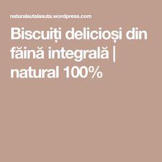 Biscuiți delicioși din făină integrală | natural 100%