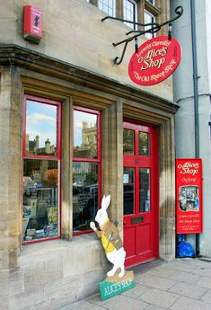 Visit Alice's Shop, in Oxford, England - home to Alice in Wonderland author, Lewis Carroll and muse, Alice Liddell.