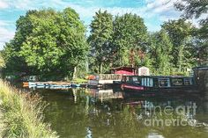 Canal Boat, River Thames, Surrey, Great Britain, Hampshire, Instagram Images, Scene, London, Big Ben London