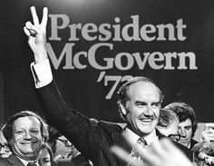 Former Democrat presidential candidate and anti-Vietnam war campaigner Senator George McGovern passed away on the eve of the US presidential candidates' foreign policy debate earlier this week. Description from ussc.edu.au. I searched for this on bing.com/images