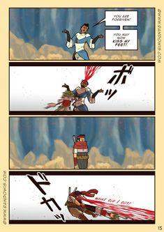 3-15 | Art belongs to RandoWis on www.randowis.com Randowis Comics, Comedy Comics, Cute Comics, Funny Comics, Crazy Funny Memes, Wtf Funny, Funny Cute, Funny Comic Strips, Pokemon