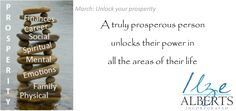 Prosperity in all areas of life