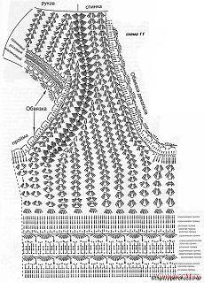 Комбинированное вязание с тканью - идеи и схемы.