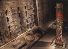 """The Last Column"" recovered from the World Trade Center sight after 9/11.   To Portugal 10-2016"