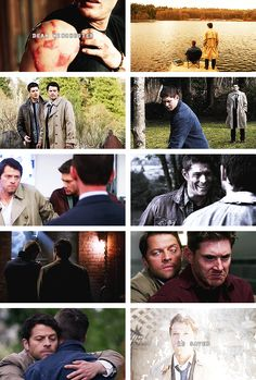 """First words I heard, clear as a bell – """"Dean Winchester is saved."""" September the 18th. #spn #destiel"""