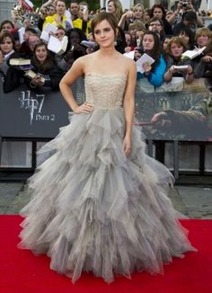 Emma Watson on the red carpet in London