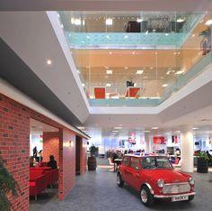 Rackspace, England - http://www.adelto.co.uk/eccentric-british-interior-design-at-rackspace