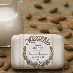 Mistral Almond Milk French Soap