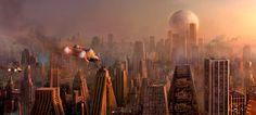 Concept spaceship art by Jaekyung Lee