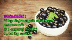 Nalewka z czarnej porzeczki. Irish Cream, Chutney, Pickles, Fruit, Food, Essen, Meals, Pickle, Chutneys