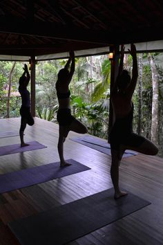 """Whether you're a practiced """"Yogi"""", or your Eagle pose looks more like a miserable owl, taking a yoga class is a great way to meet other travellers. Besides the community vibe of yoga, its physical benefits can help counteract annoying traveller aches and relentless fatigue from those long-ass journeys.  Here are some hostels that offer yoga and alternative activities to help you get high as a kite on those endorphins..."""
