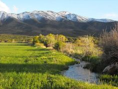 acreage-mountains and a stream. can't ask for more