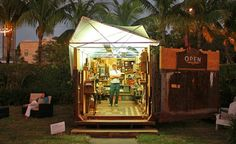 Max Premo Turns a Disused Dumpster into a Mobile Art Gallery | Inhabitat - Sustainable Design Innovation, Eco Architecture, Green Building
