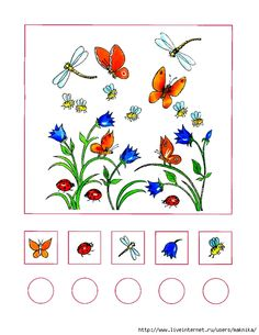 Brain Activities, Spring Activities, Math Gs, Insects For Kids, Insect Crafts, File Folder Activities, Kids Math Worksheets, Montessori Math, Math Numbers