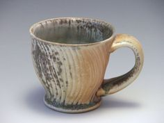 Wood Fired Porcelain Coffee Cup