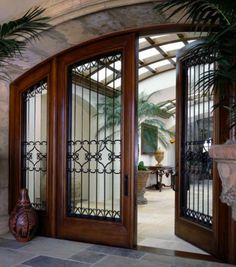 Contemporary Front Entry Doors with Classic Touch