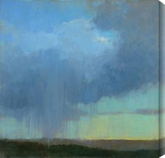 "Kim Coulter ""Cloudburst"". proportion, drips"