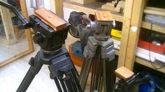 Making Wooden Tripod Adaptor Plate - Camera Mount - Vinten Pro 10 Broadc...