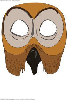 Drama: masker De Gruffalo