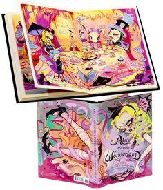 Alice in Wonderland - illustrated by Camile Rose Garcia