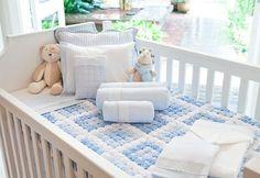 #baby #room #nursery #cute #blue #white