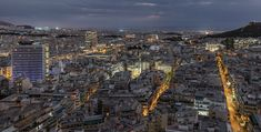 A Gorgeous Overhead Timelapse Showcasing the Evolving Beauty of Athens, Greece at Night via @laughingsquid