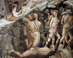 Giovanni da Modena, The Inferno (detail),1410, Basilica di San Petronio , Bologna