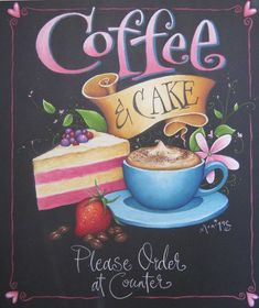 Two Week Chalkart Hobby Course with monique chalk art. Blackboard Art, Chalkboard Lettering, Chalkboard Designs, Chalk It Up, Chalk Art, I Love Coffee, My Coffee, Coffee Break, Coffee Cafe