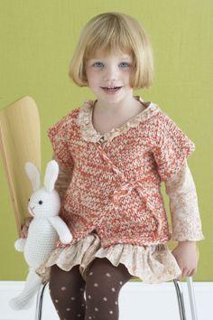 Free Knitting Pattern: Marmalade Kimono