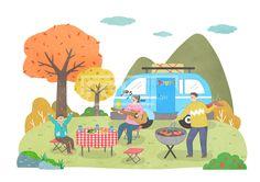 SPAI157, 프리진, 일러스트, 가을, 가을라이프, 생활, 에프지아이, 사람, 캐릭터, 풍경, 배경, 가을배경, 가을풍경, 가을여행, 손짓, 여행, 피크닉, 남자, 여자, 식물, 나무, 은행나무, 단풍나무, 구름, 산, 힐링, 취미, 웃음, 미소, 행복, 전신, 서있는, 가족, 3인, 단풍, 단풍잎, 은행, 은행잎, 캠핑, 음악, 악기, 기타, 테이블, 캠핑카, 의자, 탁자, 바비큐, 야외, 소시지, 고기, 쌈채소, 채소, 과일, 만세, 여자어린이, 엄마, 아빠, illust, illustration #유토이미지 #프리진 #utoimage #freegine 20080527