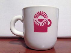 Vintage Restaurant Ware DUNKIN' DONUTS Coffee Cup Mug - Mayer China