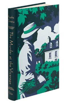 The Murder at the Vicarage book. The first story with Miss Jane Marple