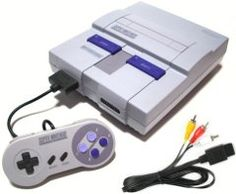 Super Nintendo, always played this with sister! still have it
