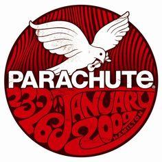 Parachute Music Festival Logo 2009. parachutemusic.com Music Festival Logos, History, Design, Historia