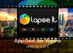 """Lapse It: Gut bewertete Zeitraffer-App im Playstore für 10 Cent https://www.discountfan.de/artikel/technik_und_haushalt/lapse-it-gut-bewertete-zeitraffer-app-im-playstore-fuer-10-cent.php Die sehr gut bewertete Zeitraffer-App """"Lapse it"""" ist jetzt im Play-Store zum symbolischen Preis von zehn Cent zu haben. Mit dem Programm lassen sich Zeitraffer-Aufnahmen und Stop-Motion-Filme erstellen. Lapse It: Gut bewertete Zeitraffer-App im Playstore für 10 Cent (Bild: Go"""