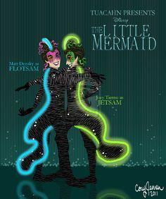 little mermaid eels | Mermaid at Tuacahn- The Eels by ~Cor104 on deviantART
