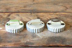 Rustic Kitchen Utensils Vintage Aluminum Cookie by forgottenPLUM