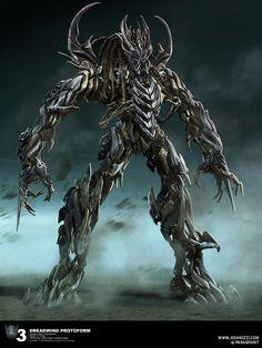 Dreadwind Decepticon Protoform (Transformer Franchise) Cybertronian