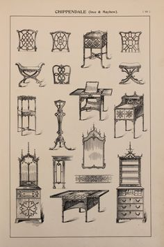 Hey, I found this really awesome Etsy listing at https://www.etsy.com/listing/237862657/english-chippendale-furniture-designs