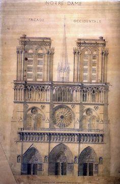 Fachada de Notre Dame_Paris